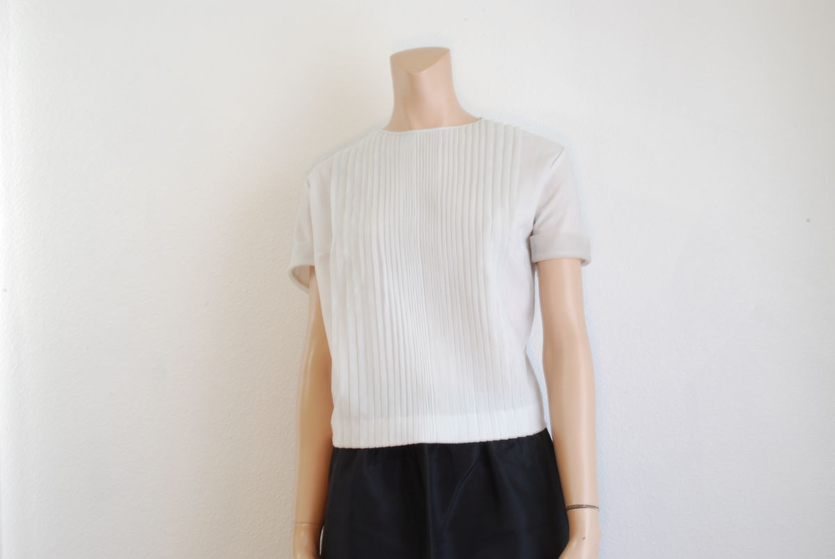 Vintage 1950's Sheer Nylon Blouse Penny Potter Original - product image