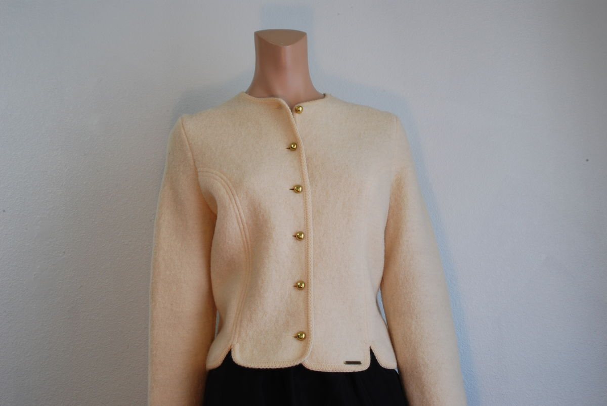 Geiger Boiled Wool Cropped Jacket  - product images  of