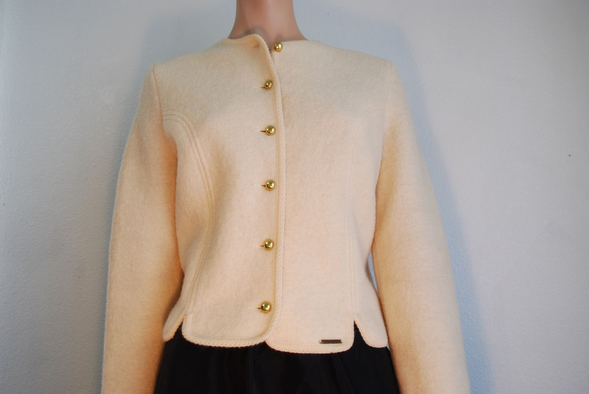 Geiger Boiled Wool Cropped Jacket  - product image