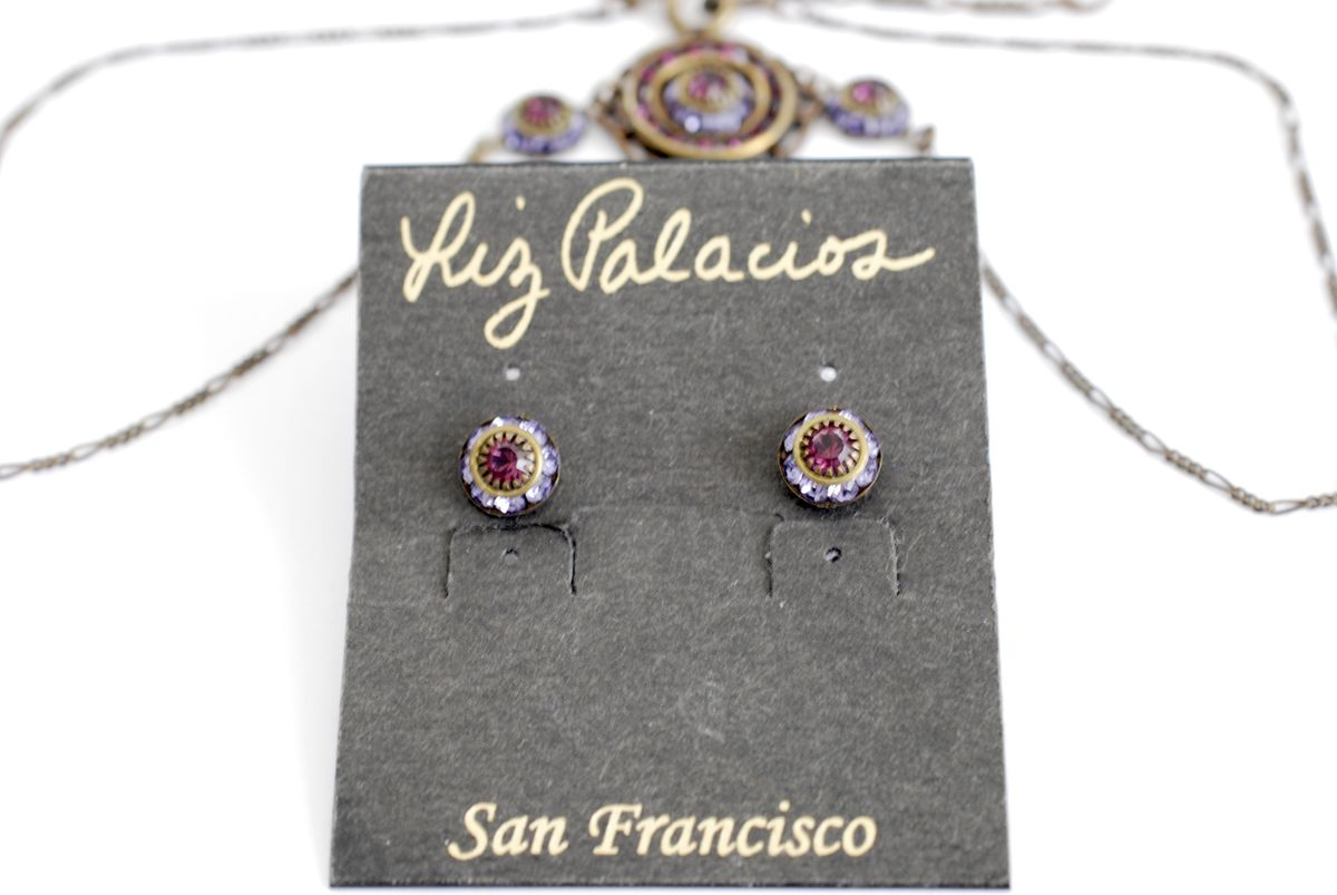 Liz Palacios Necklace and Earrings Set - product images  of