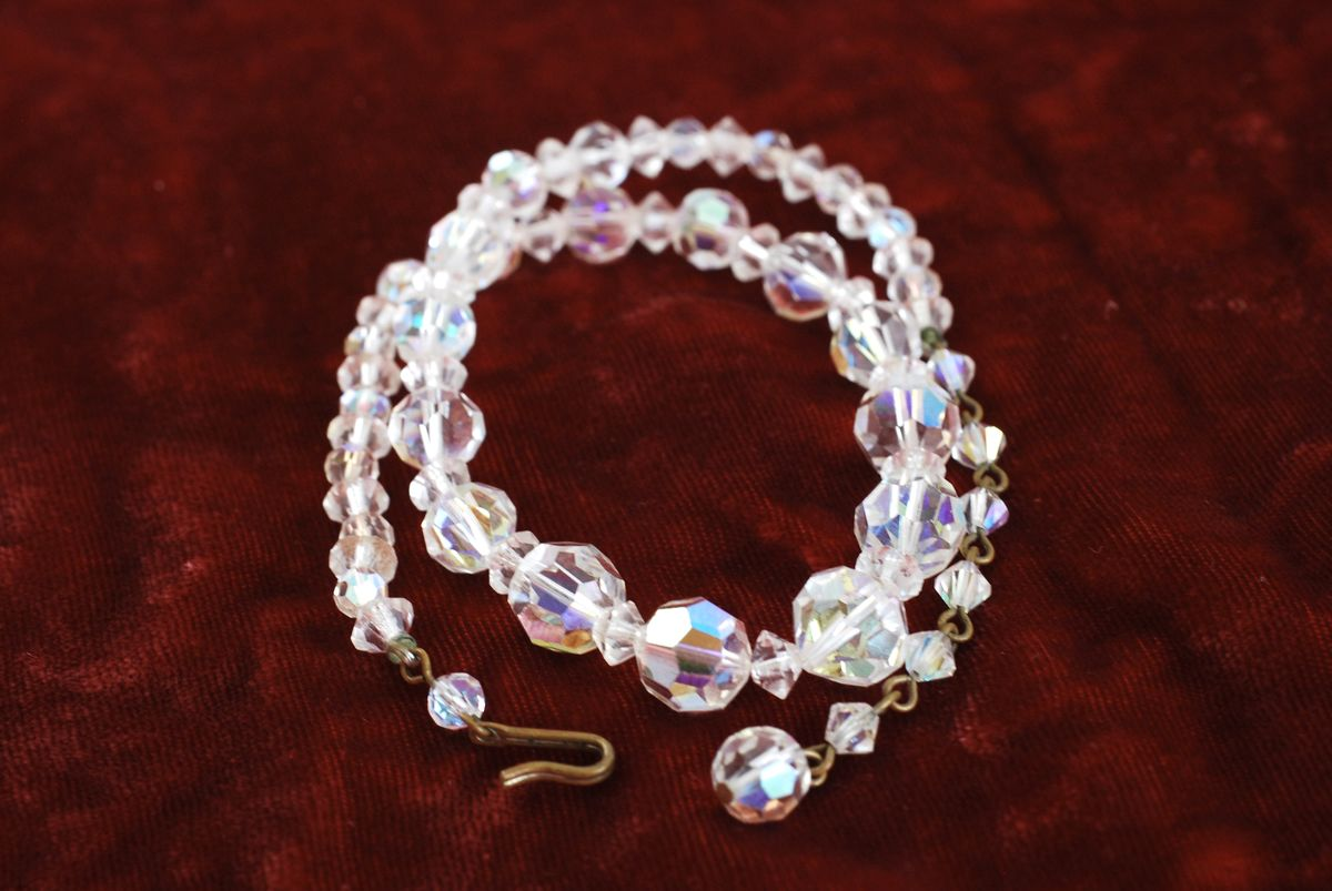 Clear Crystal AB Choker Necklace - product images  of