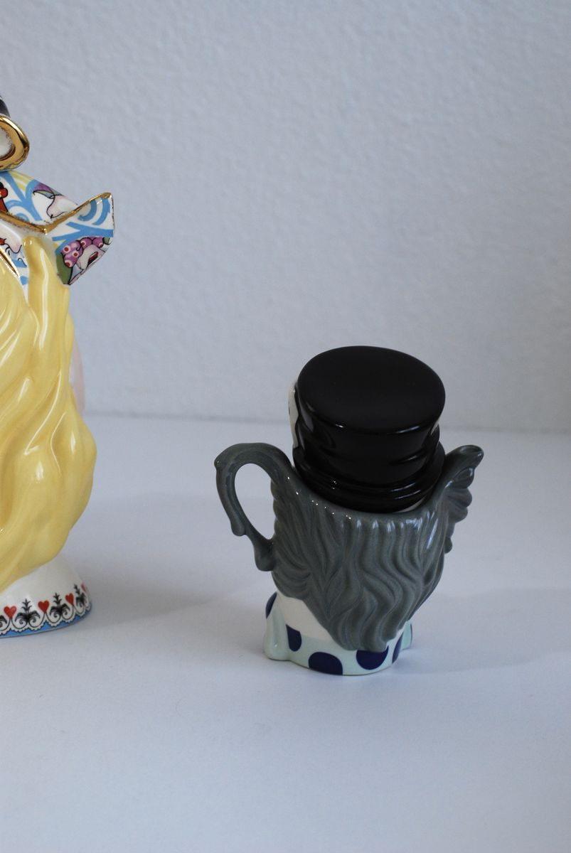 Alice in Wonderland Head and Mad Hatter Teapots by Paul Cardew - product images  of