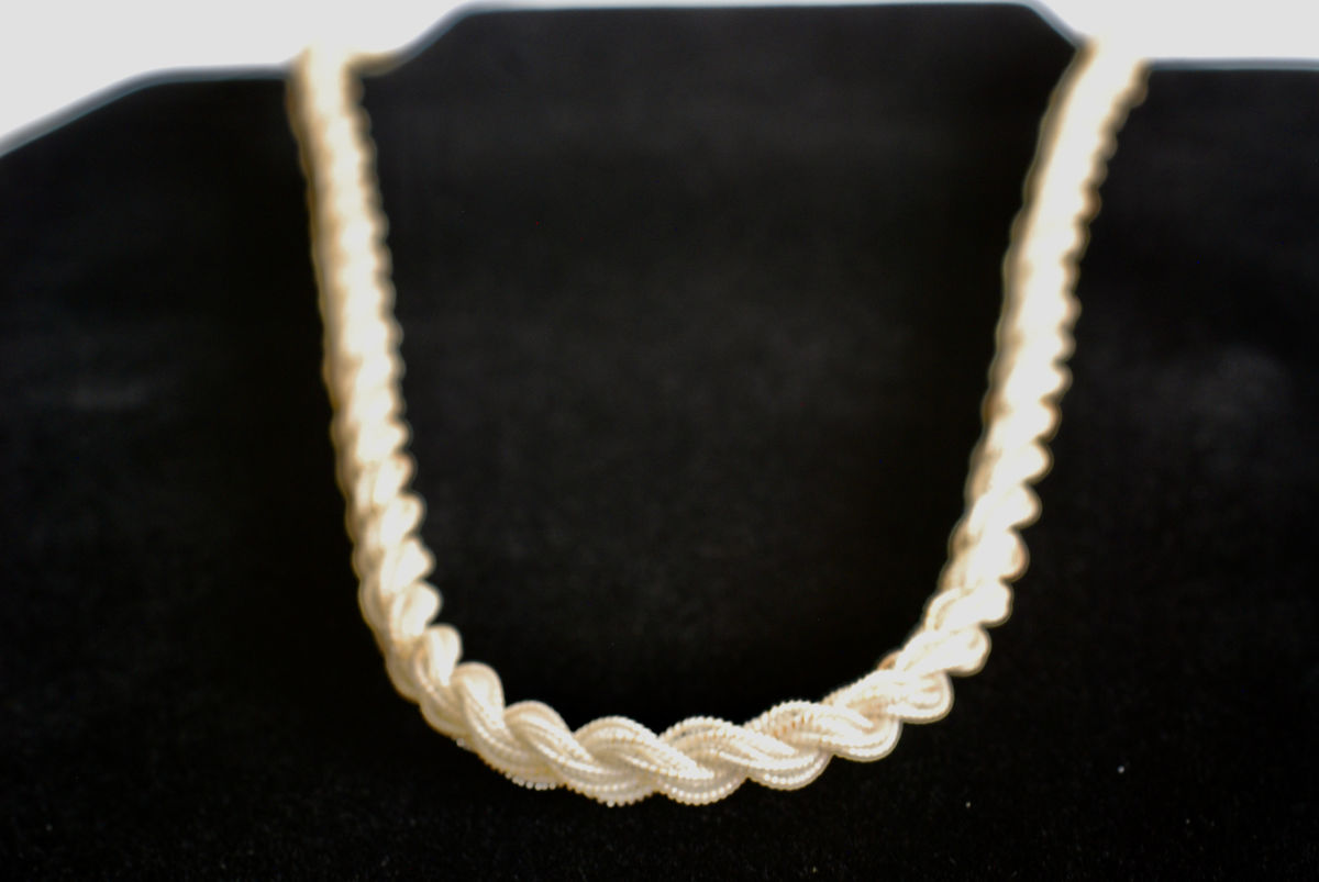 Rare Antique Twisted Spiral Necklace - product images  of
