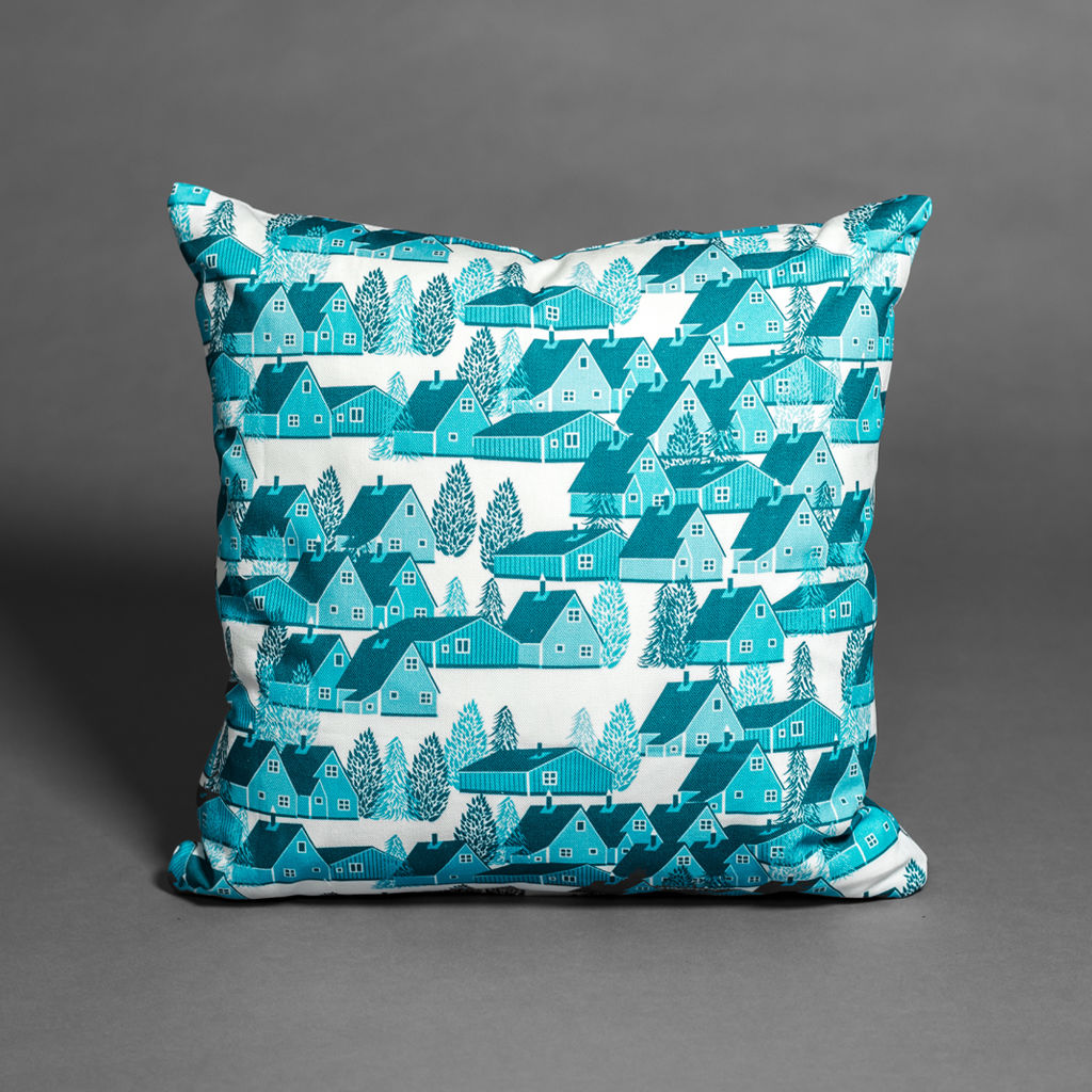 Greenland Blue Cushion - product images  of