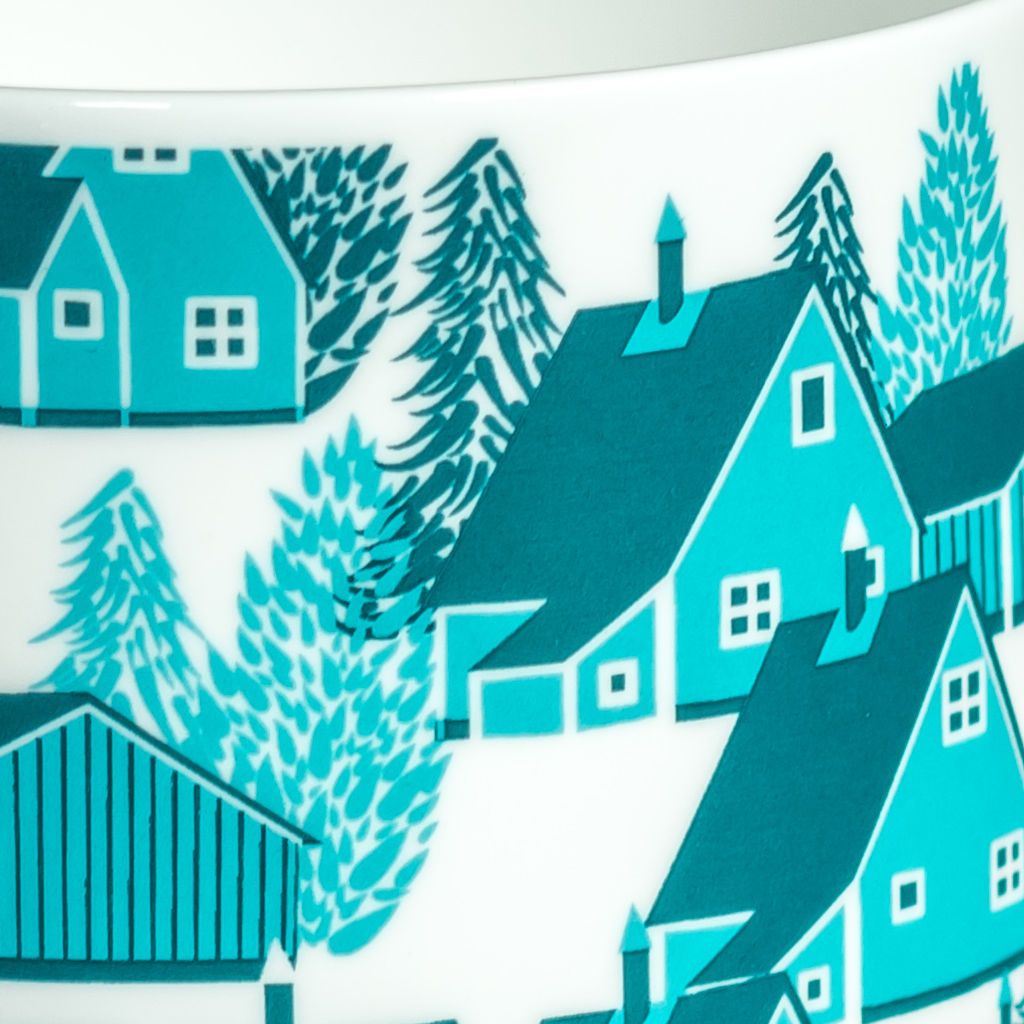 Greenland British Fine Bone China Mug - product images  of