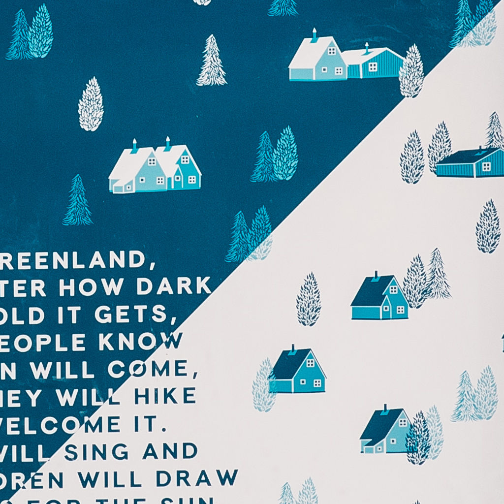 'The Sun Will Come' Greenland Art Print - product images  of