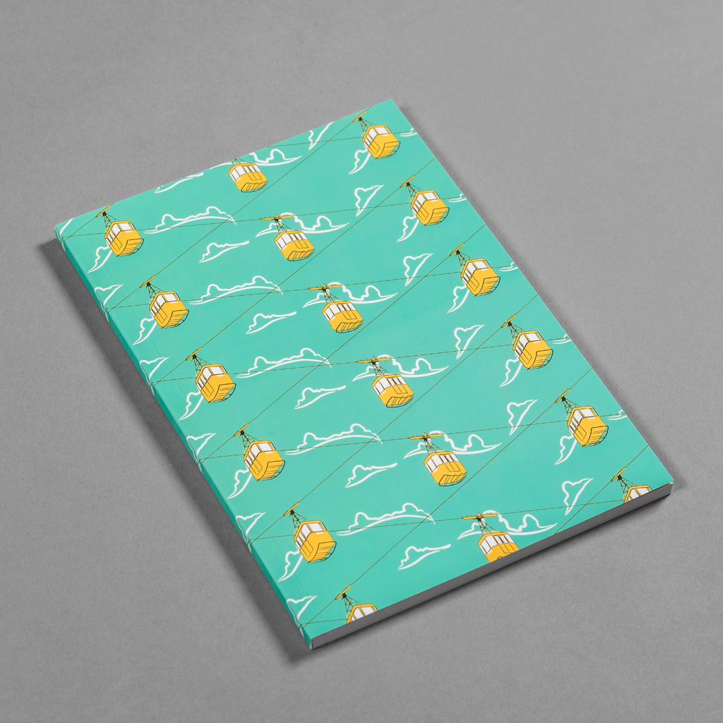 Cable Cars Blue Notebook - product images  of