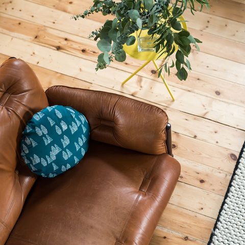 Greenland,Trees,Round,Cushion,cushions, round cushion, cushion, pillow, greenland, design, home decor, decor, furnishings, blue, trees, blue and white, kids, cabin, nature, travel, pattern, patterned, scandi, scandinavian, nordic