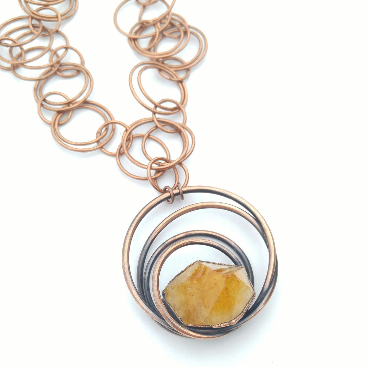 Citrine Galaxy Necklace - product images  of