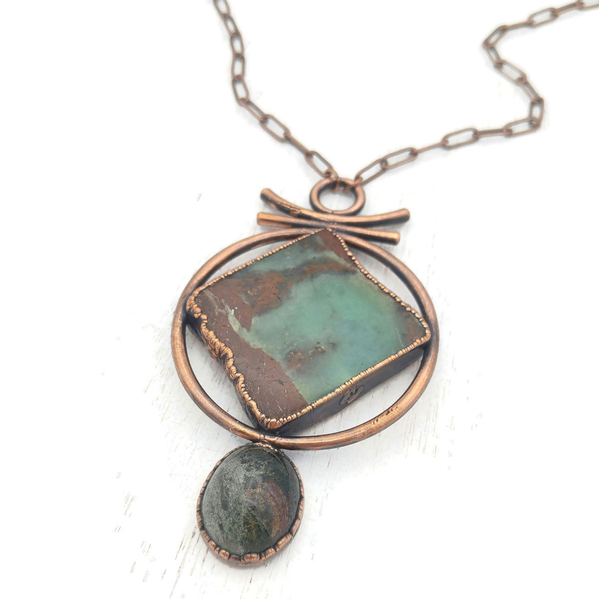 Chrysoprase Garden Necklace - product images  of
