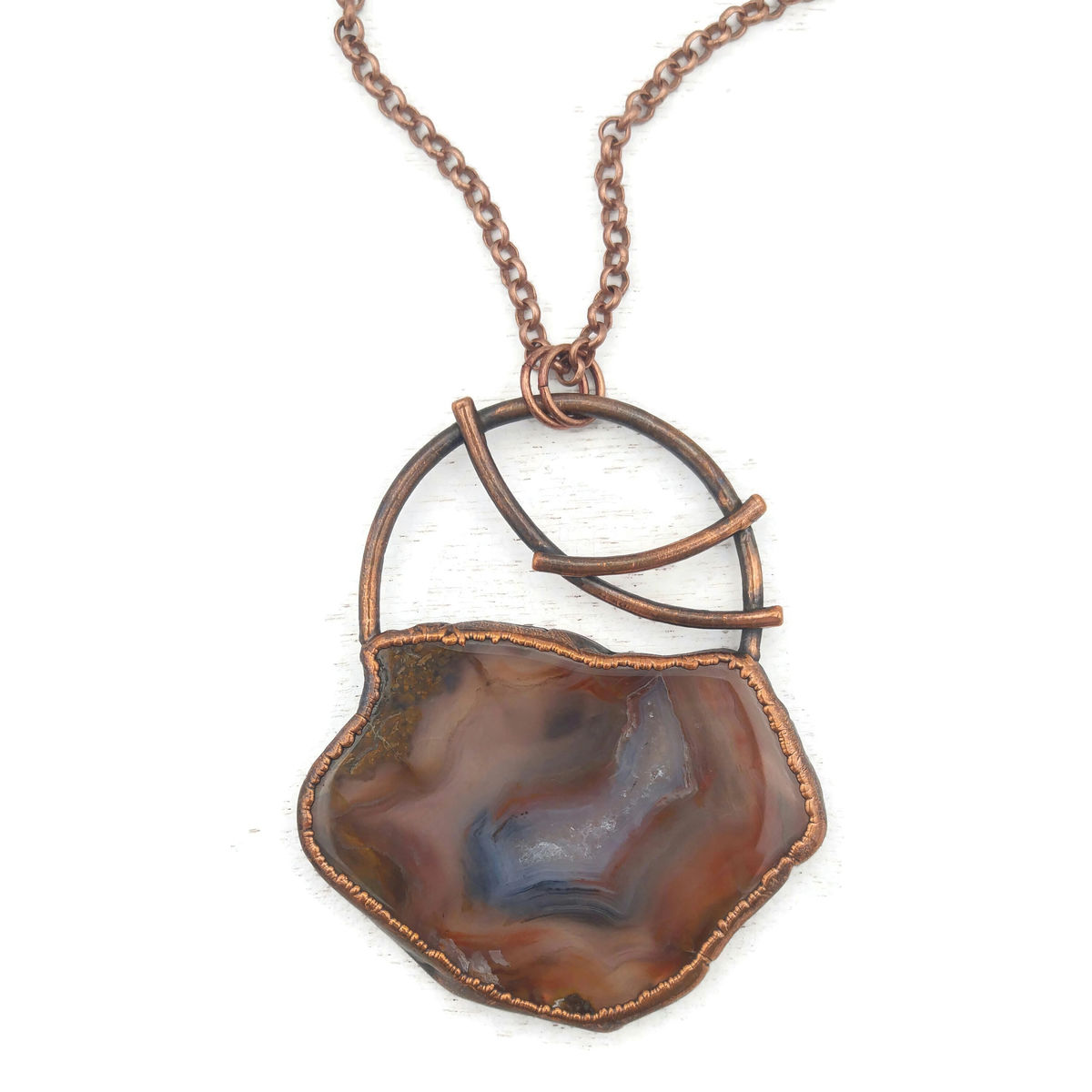 Agate Arc Necklace - product image