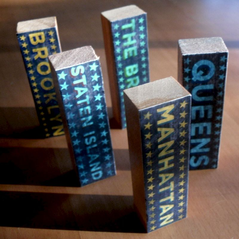 City Blocks - Five Boroughs Set - product images  of