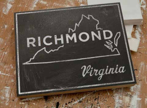 Richmond,Art,City,State,Box-,11,x,14,Mounted,Print-,Chalkboard,Art-,Virginia,Going,Away,Gifts,Print,Digital,Chalkboard_Art,City_Print,Vintage_Look_Art,Minimalist_Art,Typography_Art,Honeymoon_Gift,United_States_Cities,Dorm_Room_Art,Living_Room_Office,State_Art_Print,Virginia_State_Print,Going_Away_Gifts,Richmond_Art,wood,paper,ink,glue,sealer