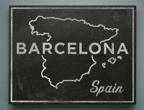 Barcelona,Art-,Town,and,Country,Black,White,Art,Box-,11,x,14-,Chalkboard,Spain,Map,Gift,for,Wife-,Inlaws,Print,Digital,Black_And_White_Art,Chalkboard_Art,Destination_Wedding,Anniversary_Gift,Spain_Map_Art,Spain_Print,Gift_For_Wife,Going_Away_Gifts,Barcelona_Art,Gift_For_Inlaws,wood,paper,ink,glue,sealer