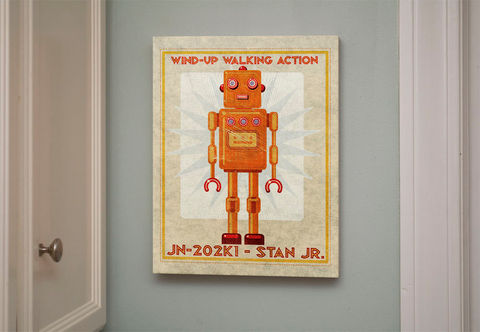 Retro,Robot,Art,Print,Box-,Stan,Jr,Sci,Fi,Wall,for,Children-,11,x,14,Ready,to,Hang,Decor-,Retrobot,Series,Land,of,Nod,Digital,Robot_Art_Print,Robot_Wall_Decor,Sci_Fi_Wall_Art,Robot_Wall_Art,Retro_Robot_Art,Robot_Home_Deocr,Robot_Poster,John_Golden_Print
