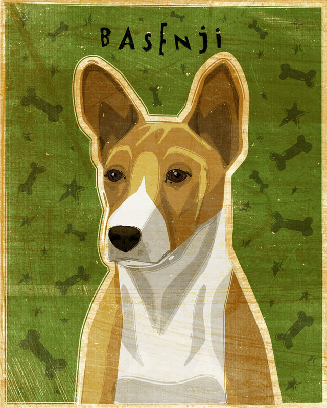 Basenji Print - Various Colors  - product images  of