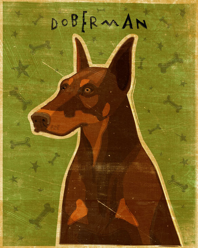 Doberman Print - Various Colors - product images  of