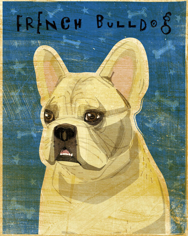 French Bulldog Print - Various Colors - product images  of