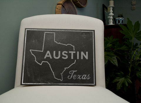 Austin,City,State,Art,Box,-,11,in,x,14,Print,Chalkboard,Custom,Print,,Texas,Chalkboard Art, Austin Art, City Print, Vintage Look Art, Minimalist Art, Typography Art, Honeymoon Gift, United States Cities, Dorm Room Art, Living Room Office, Wedding Gift, Custom State Print, Texas State Art