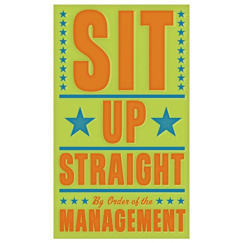 Sit Up Straight Print 6 in x 10 in - product images  of