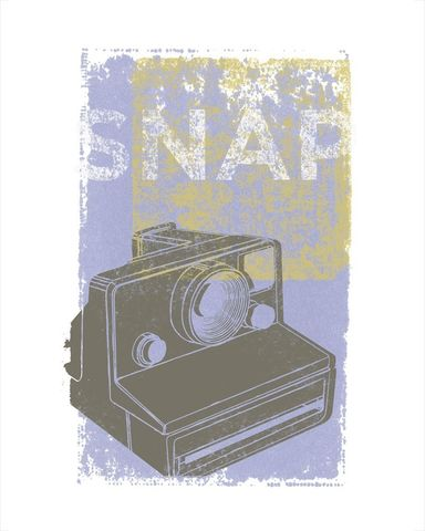 Snap,Print,-,fits,8,in,x,10,Art,Illustration,snap,camera,paper,ink