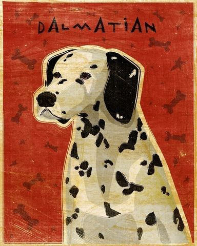Dalmatian,Print,Art,Illustration,digital,whimsical,cute,dog,animals,animal,dalmation,fire_dog,paper,ink