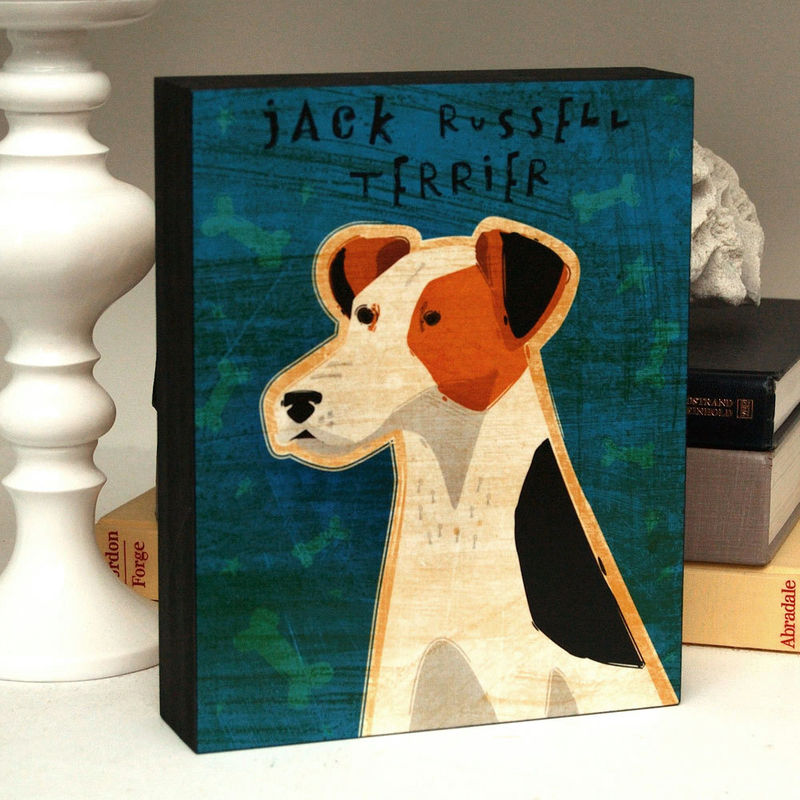 Dog Art Box - Pick Your Pooch - Mounted Print - product images  of