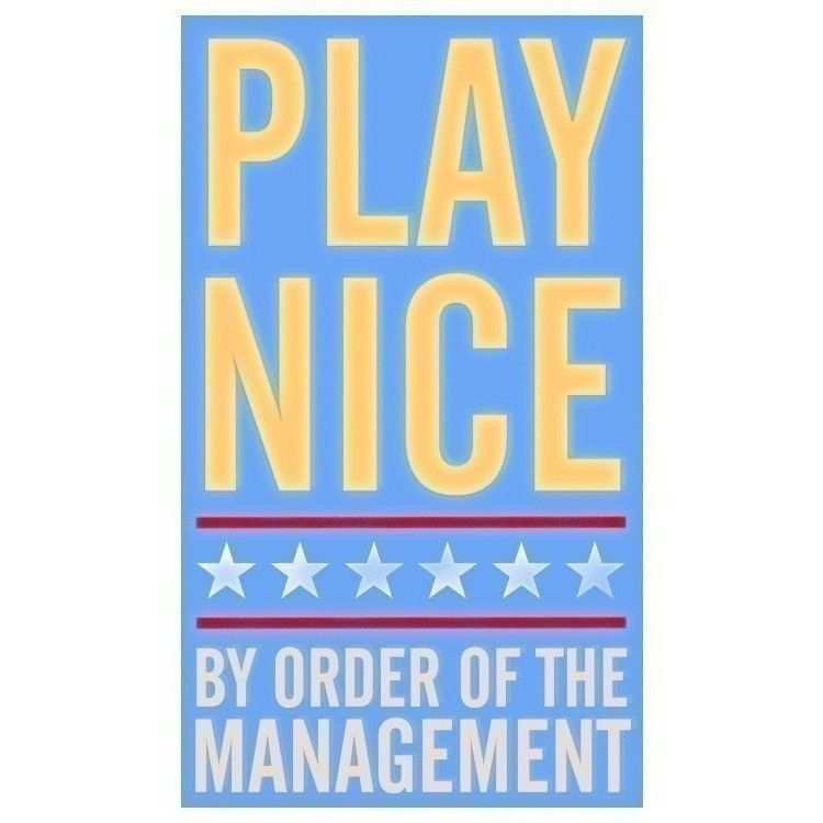 Play Nice 6 in x10 in Print - product images