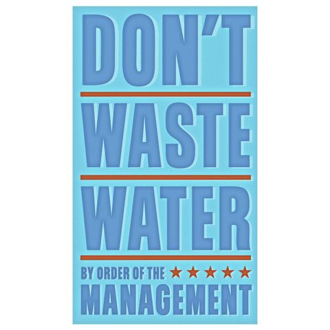 Don't,Waste,Water,Print,6,in,x,10,Children,Toddler,art,illustration,print,digital,john_w_golden,water,waste,blue,paper,computer