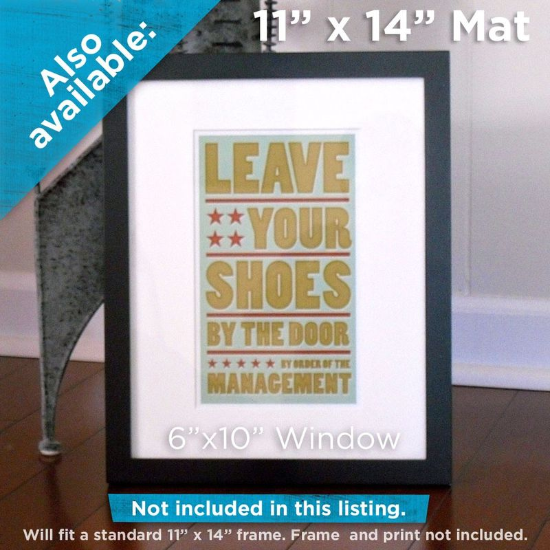 Don't Waste Water Print 6 in x 10 in - product images  of