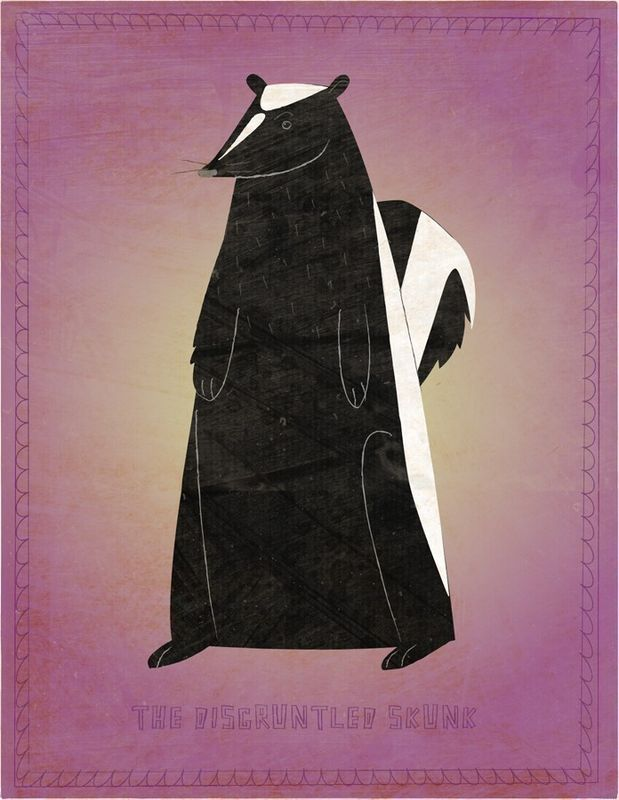 The Disgruntled Skunk Print - product images  of