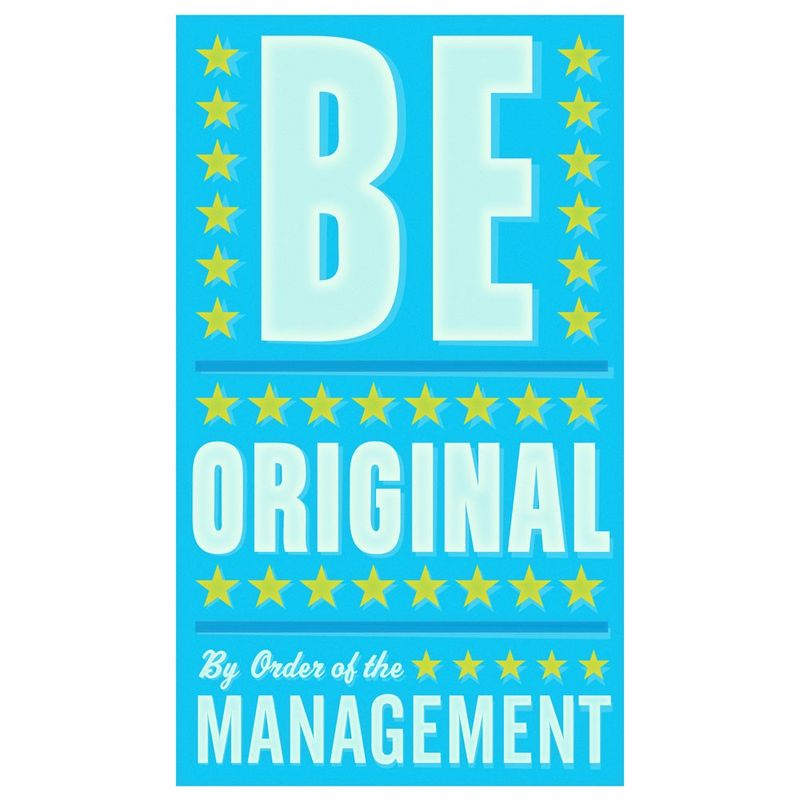 Be Original Print 6 in x 10 in - product images  of