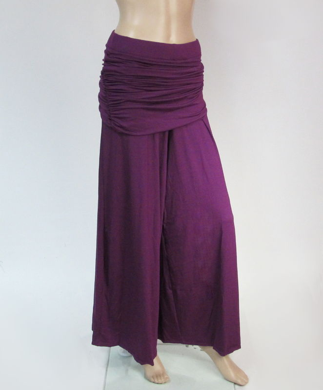 Skirted Palazzo Wide Leg Pants - product images  of