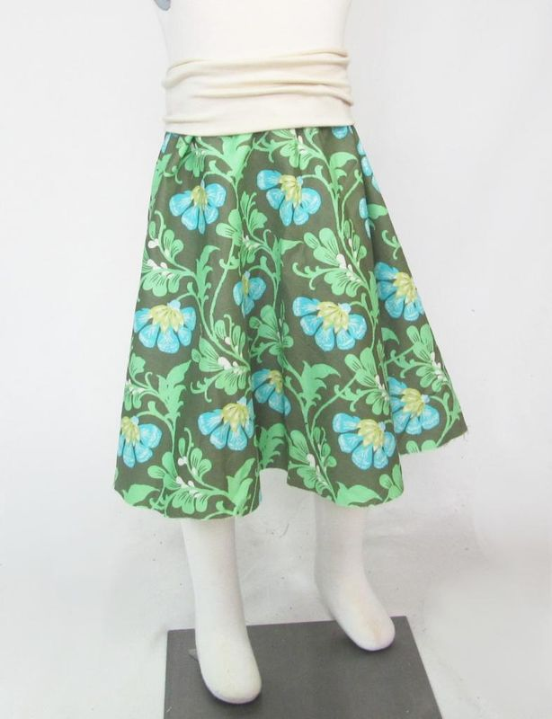 TNB Girls Skirt - Amy Butler Daisy Chains - product image
