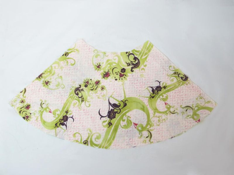 TNB Girls & Toddler Skirts - Lime & Eggplant Plumes - product image