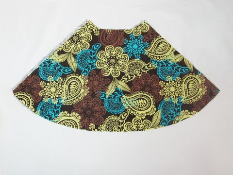 TNB,Girls,Skirt,-,Kaufman,Earth,Floral,and,Paisley