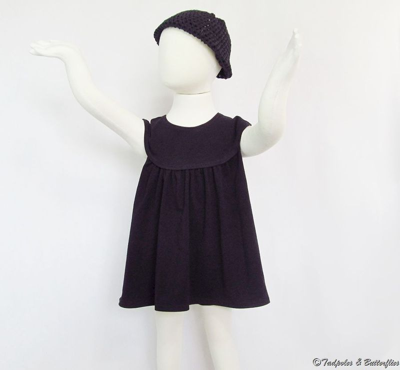Breakfast At Tiffany's Inspired TNB Dress & Bloomer Set - Made to Order  - product images  of