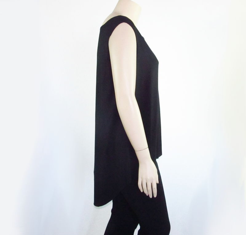 High Low Asymmetrical Jersey Shirt-You Choose Sleeve Style/Length - product images  of