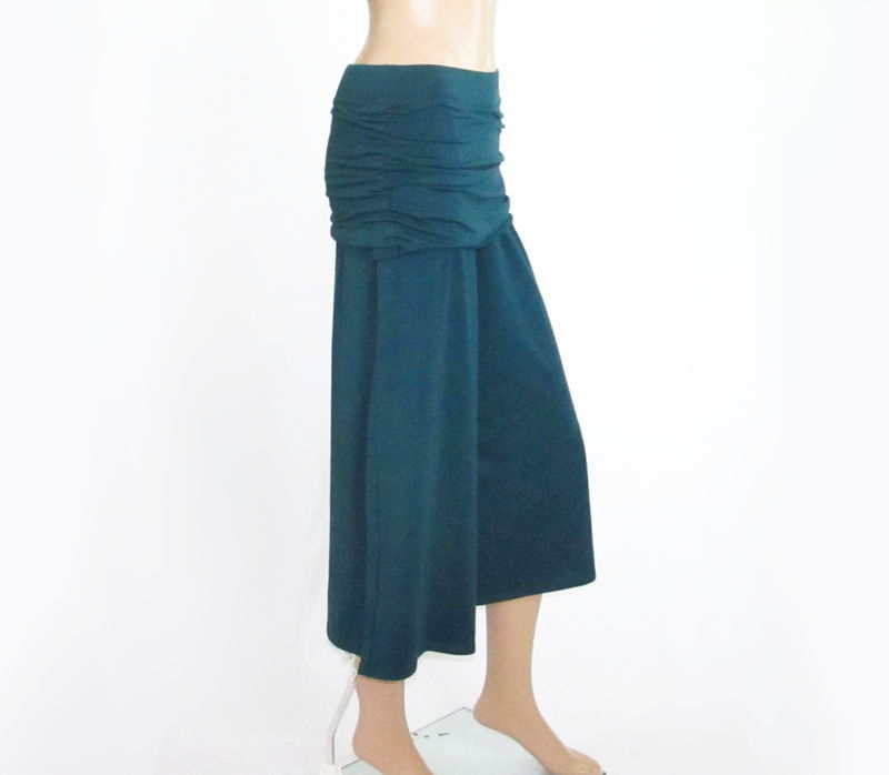 Skirted Gauchos Wide Leg Cropped Pants - product images  of