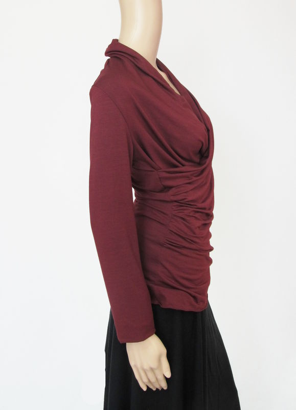The Kobieta Draping Wrap Shirt - product images  of
