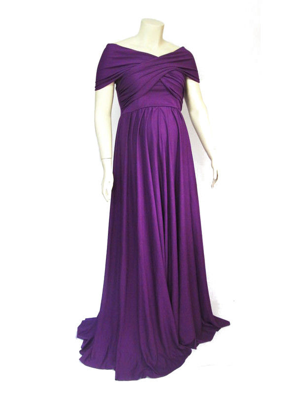The Kobieta Infinitely Wrapped Maternity Maxi Dress - Photography Gown - product images  of