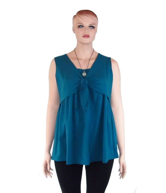 The Kobieta Faux Shrug Nursing Shirt / Breastfeeding Shirt - product images  of