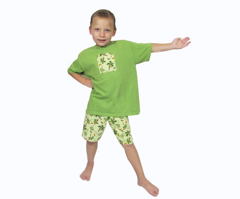 Safari Money Short Set - Custom Sizing from 12M thru 6yr - product images  of