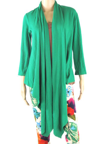 Kobieta,Organic,Waterfall,Cardigan,-,Multiple,Ways,to,Wrap,and,Wear,Ready,Ship,in,Bamboo/Cotton,Size,Medium,cardigan, ethical fashion, handmade fashion, handmade clothing, ethical clothing, fall cardigan, waterfall cardigan, wrap cardigan, wrap top