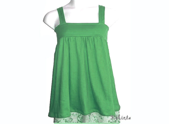 The Original Kobieta BabyDoll Halter - Ready to Ship - Kelly Green - Size XXS/XS - product images  of