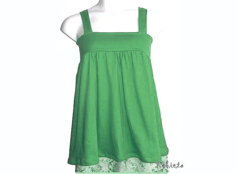 The,Original,Kobieta,BabyDoll,Halter,-,Ready,to,Ship,Kelly,Green,Size,XXS/XS