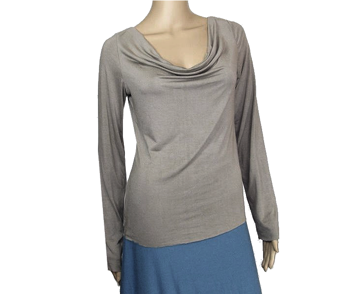 The Kobieta Drape Neck Tee - product images  of