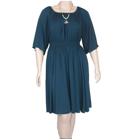 Gathered,Waist,Peasant,Dress,womens peasant dress,petite peasant dress, plus size dress,custom dress,casua dress,jersey dress,shirred dress,poets top,poets dress,made to order,made to measure,bamboo