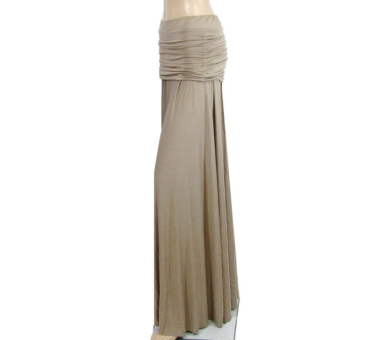 Ruched Hip Maxi Skirt - product images  of