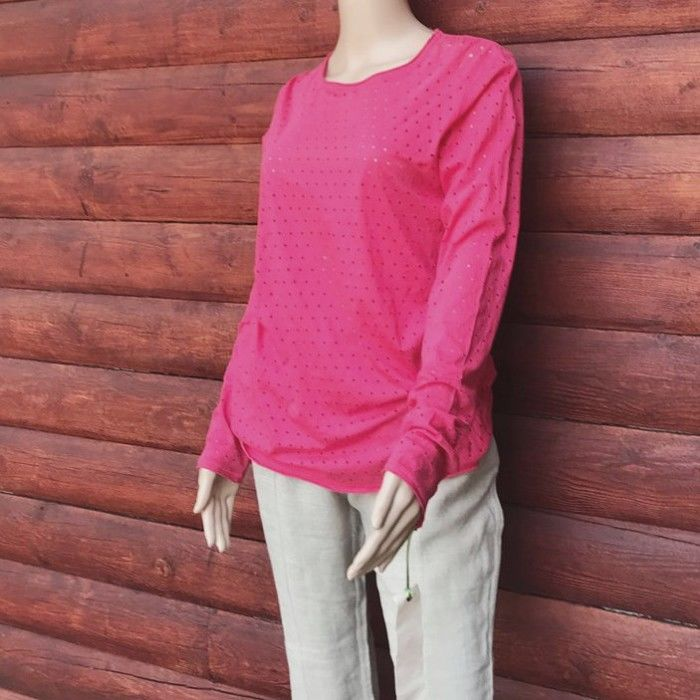 PimaDoll Organic Pima Cotton Oversized Yoga Tee - product images  of